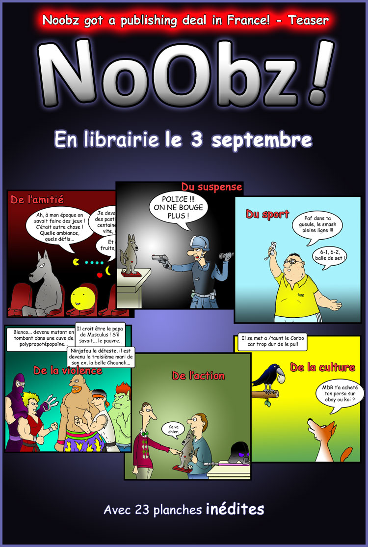 Noobz Published In France
